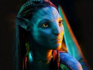 Postal: Neytiri en Avatar