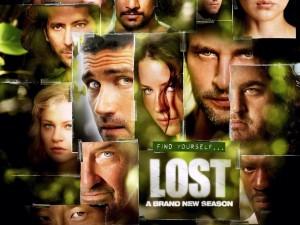 Postal: Mosaico de Lost