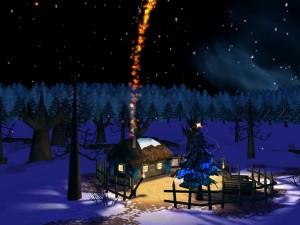 Noche mágica navideña