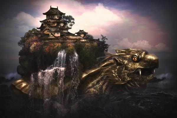 La casa-dragón