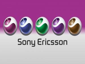 Sony Ericsson, logo en 5 colores