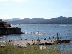 Postal: Bahía de Saint-Tropez