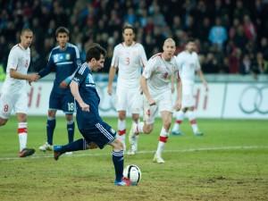 Postal: Lionel Messi