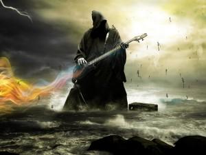 Muerte rockera