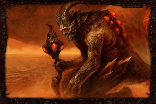 Un gran demonio