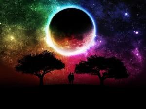 Postal: Colores nocturnos