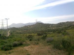 Camino rumbo al Valle Redondo (Tijuana B.C.)