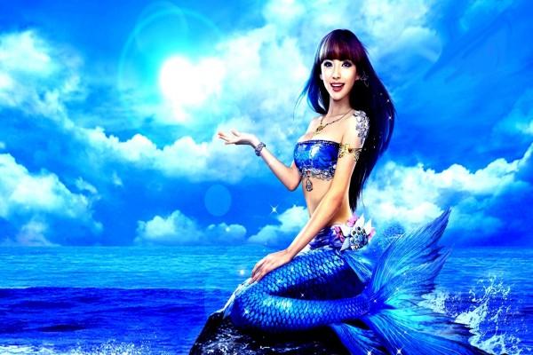 Sirena azul