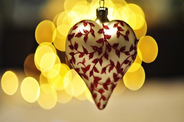 Colgante en forma de corazón