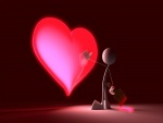Pintando un corazón