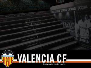 Escaleras del Estadio de Mestalla