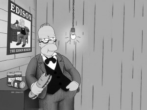 Postal: Homero inventor