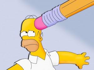 Borrando a Homero
