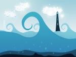 El faro y el mar