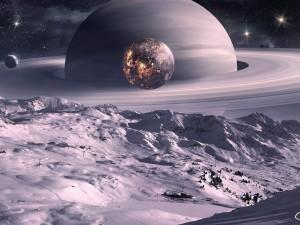 Lunas en Saturno