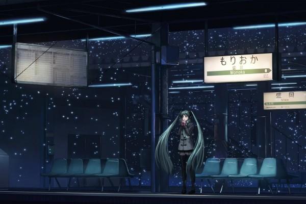 Esperando en la estación