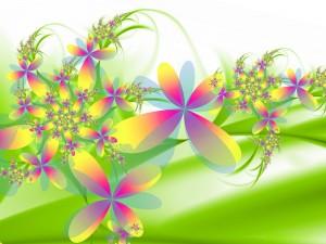 Postal: Flores 3D