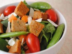 Postal: Ensalada de verduras crudas
