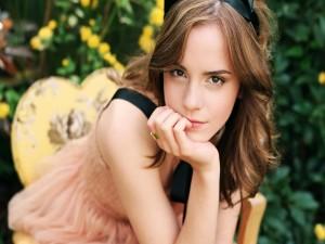 Emma Watson, actriz y modelo británica