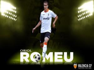 Postal: Oriol Romeu, Valencia CF