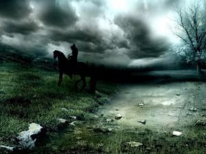 Jinete en la oscuridad