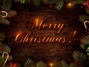 Postal: Merry Christmas!