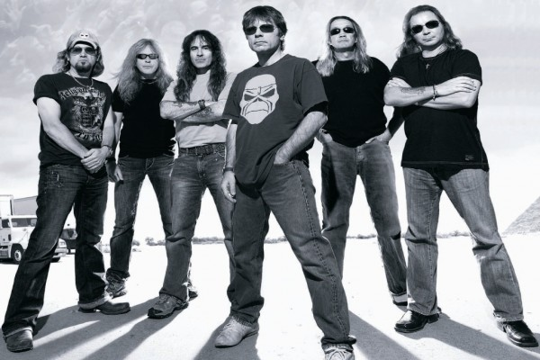 Iron Maiden en la carretera