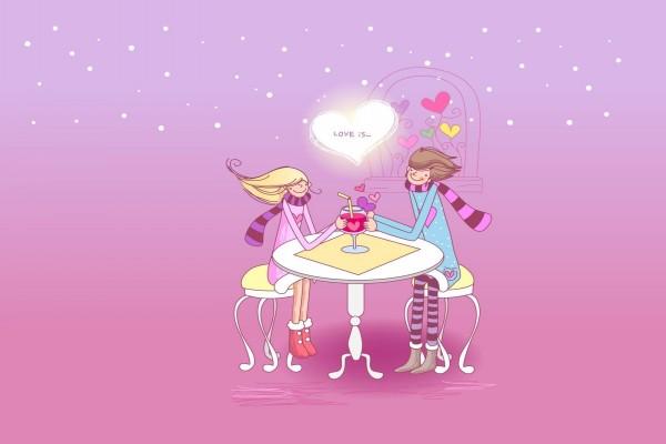 Compartiendo el cóctel del amor