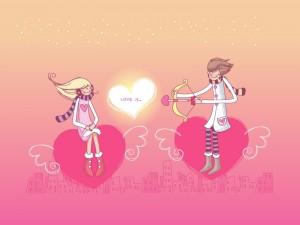 Flechazo de amor