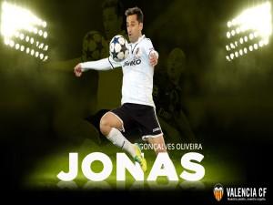 Postal: Jonas, jugador del Valencia CF