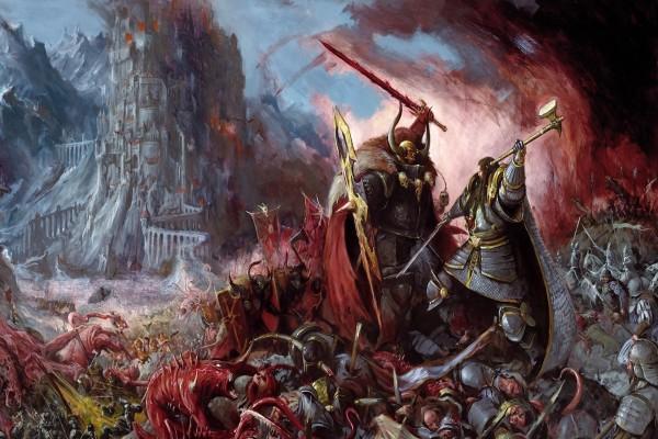 En la batalla