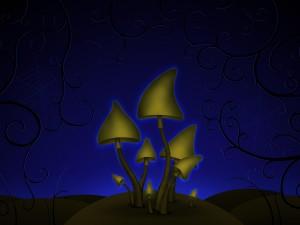 Hongos en la oscuridad