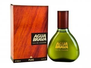 Postal: Frasco de Agua Brava