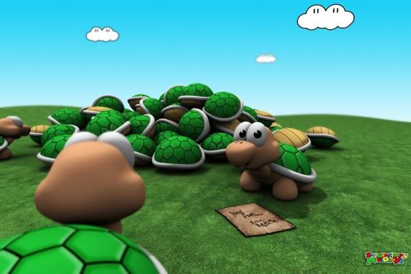 Tortuguitas de Mario
