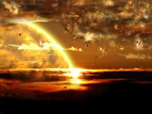 Postal: Amanecer solar