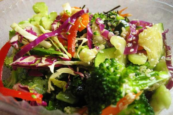 Verduras en ensalada