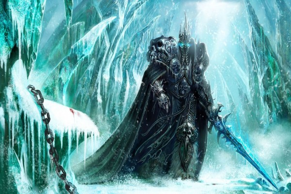Lich King en el bosque