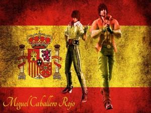Postal: Miguel Caballero Rojo