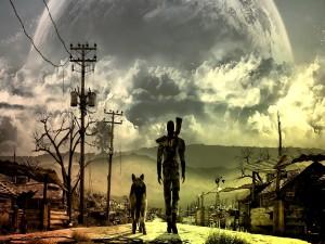 """Atardecer """"Fallout 3"""""""