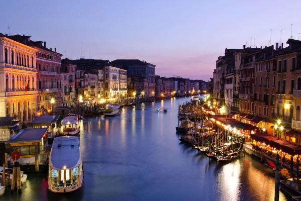 El Gran Canal de Venecia