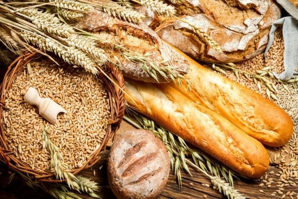 Panes, trigo y cebada