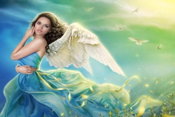 Una joven ángel