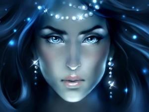 El rostro de una diosa