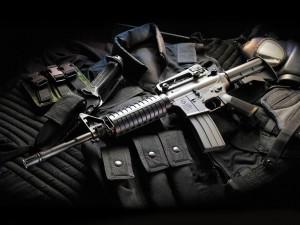 Postal: Fusil M16