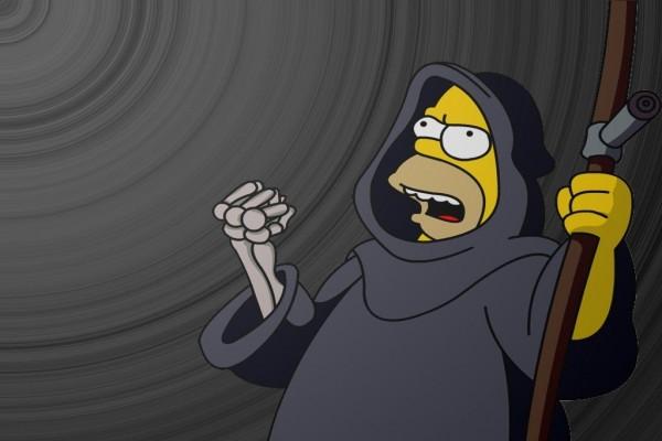 Homero como La Muerte