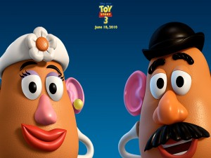 Postal: Señor y Señora Patata, Toy Story 3