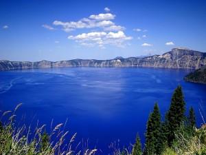 Postal: Agua azul