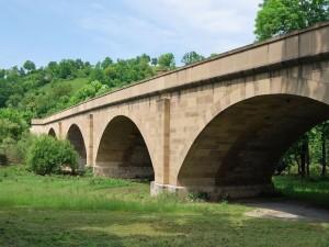Puente sobre el río Jagst (Alemania)