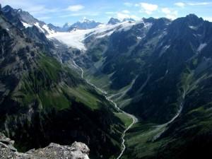 Postal: Gasteretal y Kanderfirn (Suiza)