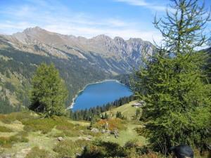 Postal: El lago Arnensee (Suiza)